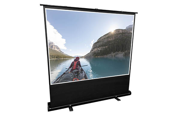 """100"""" Pull-up Portable Projection Screen - 4:3"""