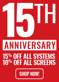 15th Year Anniversary Sale