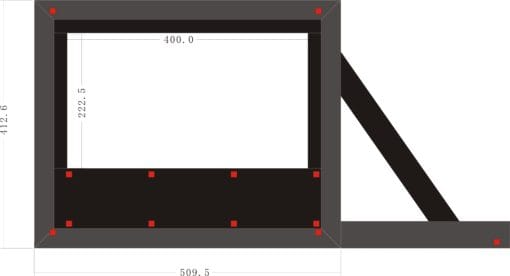 4 m wide outdoor movie screen dimensions