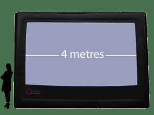 4m Precision ParkView Screen