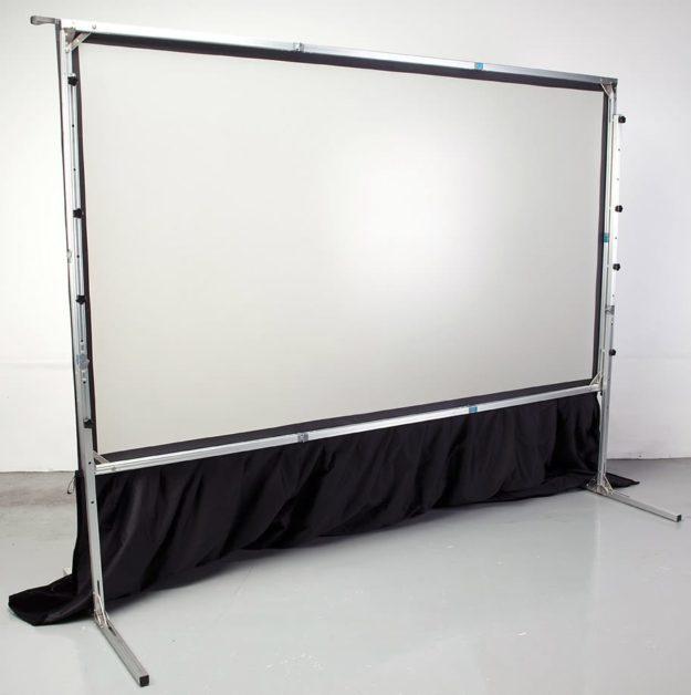 Large Portable Projector Screens : Large presentation smartfold m quot