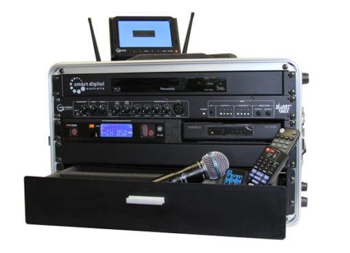 Portable multimedia control