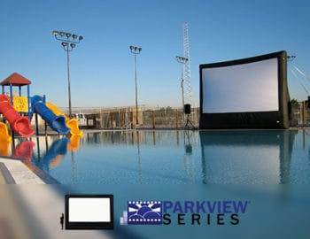Inflatable Projector Screens and Outdoor Cinema Equipment