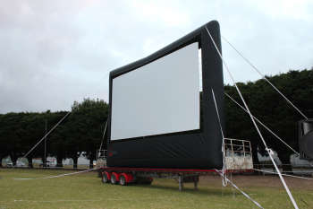 Big Inflatable Movie Screen
