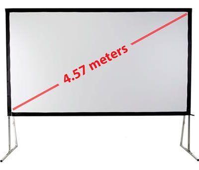 "portable projector screen 180"" in diagonal"