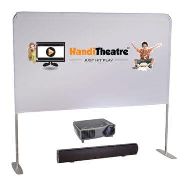 HandiTheatre Light Backyard Cinema Package