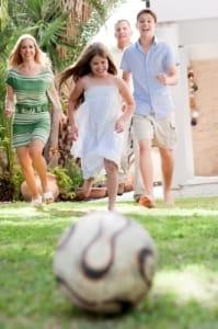 Backyard Movie Family Fun