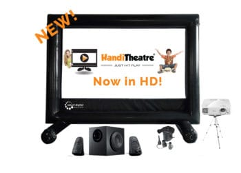 HandiTheatre-Home-HD - Outdoor home theatre