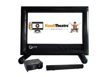 Outdoor home theatre