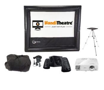 HandiTheatre-Home-HD - Outdoor home theatre