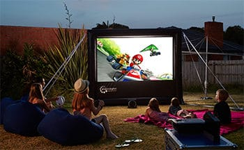 play console games in your backyard
