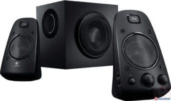 powerful Logitech z623 speakers