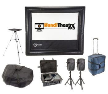 Handitheatre HD - Home Outdoor Cinema system