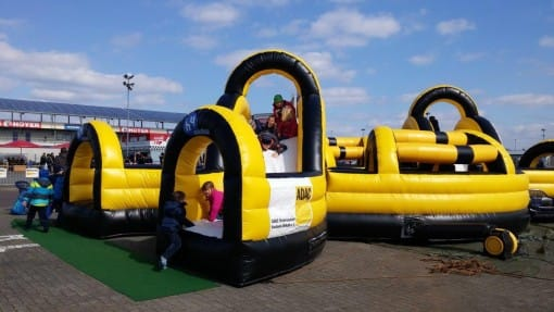 Huawei jumping castle blowers in Germany