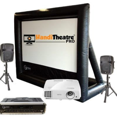 HandiTheatre backyard outdoor theatre