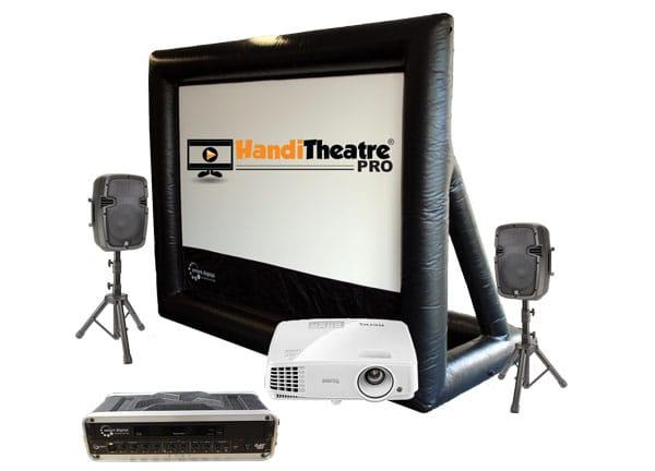HandiTheatre backyard outdoor theatre
