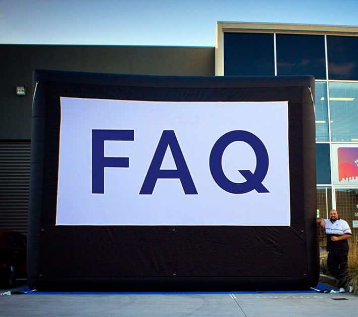 Open Air Cinema and inflatable screens FAQ