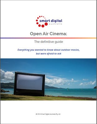 Outdoor cinema guide