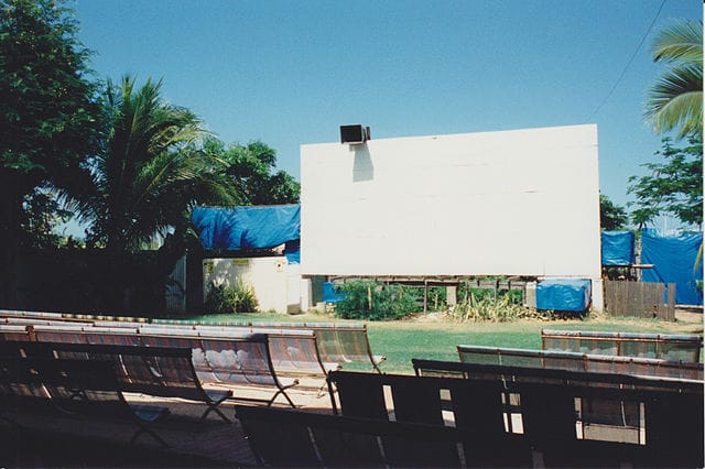 History of Open Air Cinema