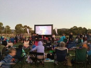 why we love outdoor movies