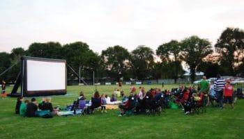Melbourne Open Air Cinema Night