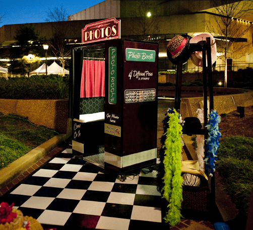Photo Booth Your Outdoor Entertainment Event for Marketing Success