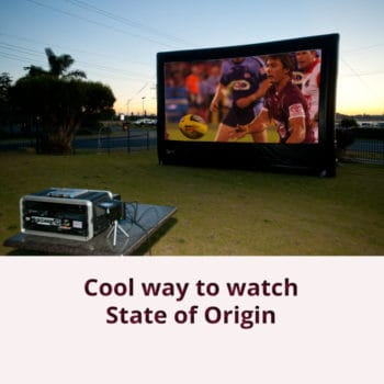 Cool way to watch State of Origin
