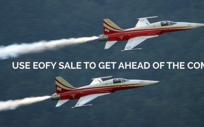 Use EOFY sale to get ahead of the competition