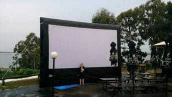 6m inflatable movie screen