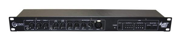 6 channel audio mixer