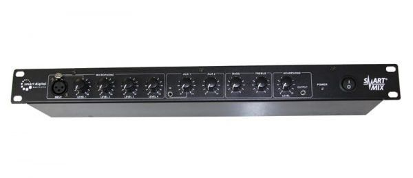rack mounted audio mixer