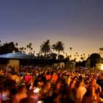 Hollywood outdoor cinema - one of outdoor cinema businesses in the US