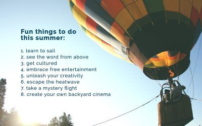 8 Must-Do Summer Fun Activities