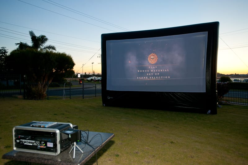 AV controller SmartBox for outdoor movies