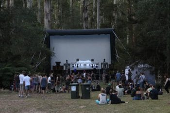 Movies in the woods