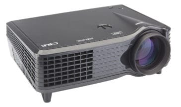 outdoor projector for backyard cinema