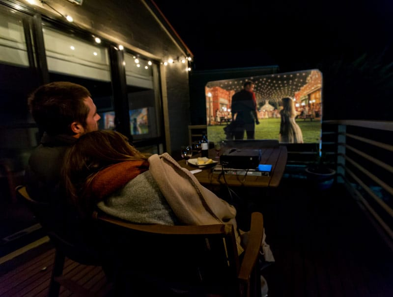 Affordable backyard cinema package now available