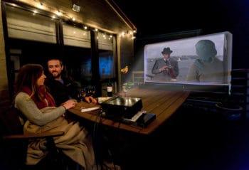 watch romantic movie on your balcony