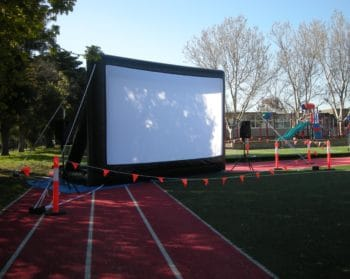 use portable PA system for outdoor events
