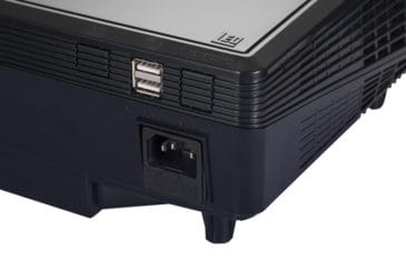 portable projector detail