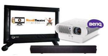 HandiTheatre camping cinema package