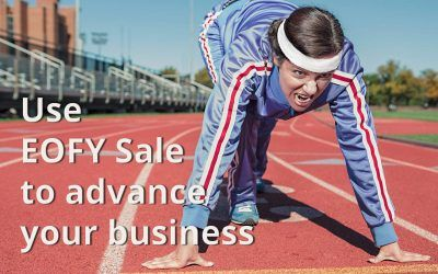 How to benefit from end of financial year sale