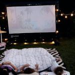 backyard home cinema