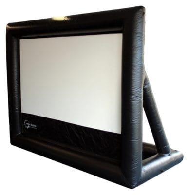 3 m wide HandiTheatre Pro inflatable outdoor TV screen