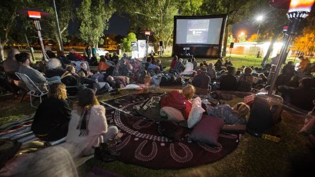 Outdoor Film Festival In The Australian Outback