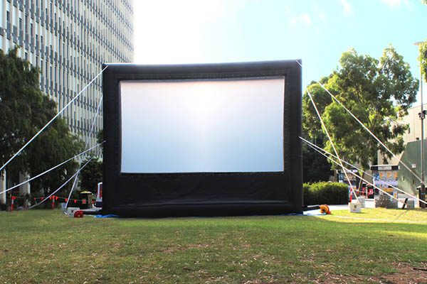 Outdoor Movie Screen Inflatable Portable Large Blow Up Projection Theater System