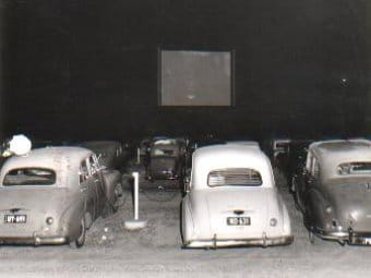 First Australian Drive-in Cinema