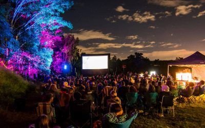 Indigenous youth and community development using outdoor cinema