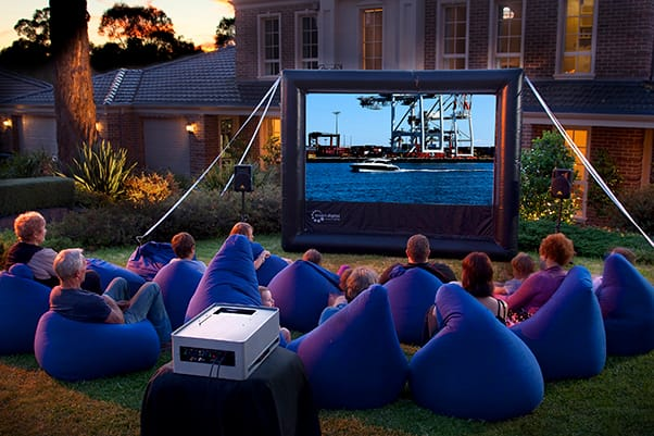 HandiTheatre Home Smart Outdoor Cinema Package