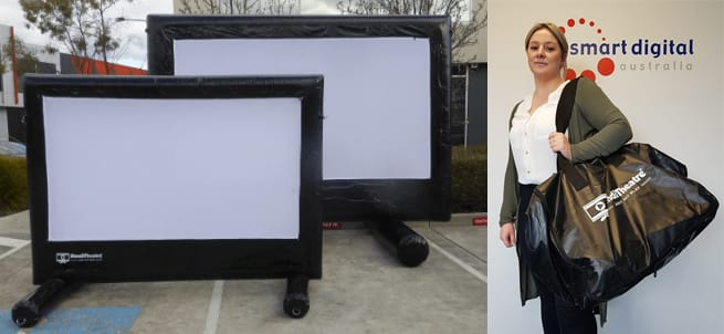 Smart Digital Portable Inflatable Screens